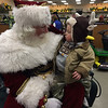 My grandson Colby's first visit with Santa.<br /> <br /> Photographer's Name: Jamie Milner<br /> Photographer's City and State: Pendleton, Ind.