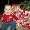 My grandson Kallen Buttler enjoying his first Christmas.<br /> <br /> Photographer's Name: Jill Neff<br /> Photographer's City and State: Anderson, Ind.
