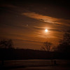 The moon rising on the evening of Dec 18.<br /> <br /> Photographer's Name: Terry Lynn Ayers<br /> Photographer's City and State: Anderson, Ind.
