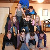 Grandkids pyramid on Thanksgiving.<br /> <br /> Photographer's Name: Bettie Beane<br /> Photographer's City and State: Anderson, Ind.