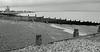 Whitstable beach on 31st December