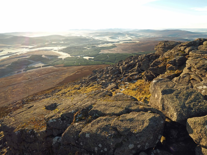 Cairngorms from Ben Rinnes - 5th December