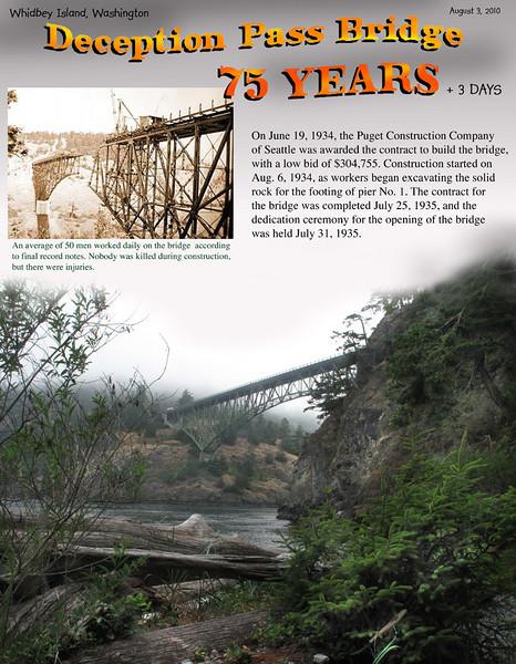Deception Pass bridge 75th anniversary.<br /> August 3, 2010