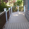 Another view of the deck - consists of a man-made composite (from TimberTech) w/ invisible fasteners.