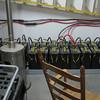 The new solar battery array.