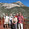Our group with Mummy Mountain in the background.