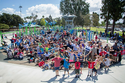 Del Valle Playground Opening - May 21, 2016