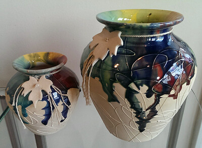 Very nice studio pottery