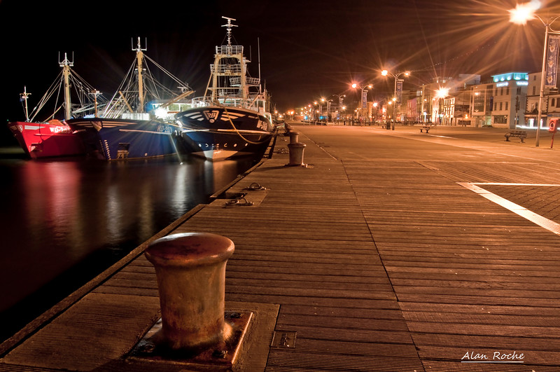 Wexford Quay at Night<br /> <br /> Photo W013