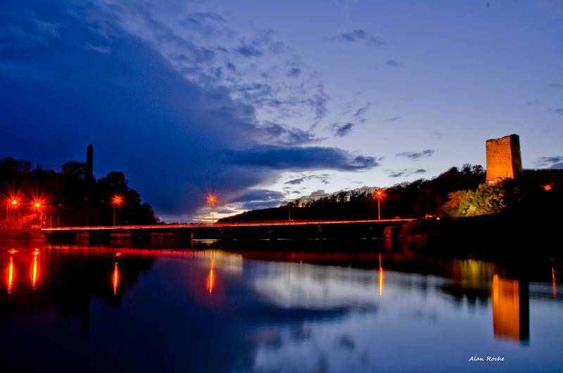 Ferrycarrig Wexford at Night <br /> <br /> Photo W023