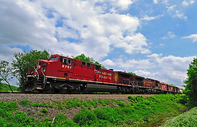 Canadian Pacific #253, Delson, Qc