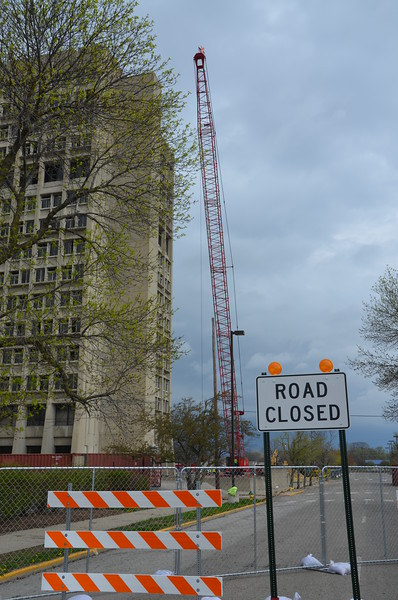 Ninth Street is closed for the next two weeks. Eighth Street will be closed for a month in two weeks.