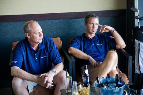 Serious golfers