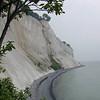 Moen Cliffs.  On the island of Moen.