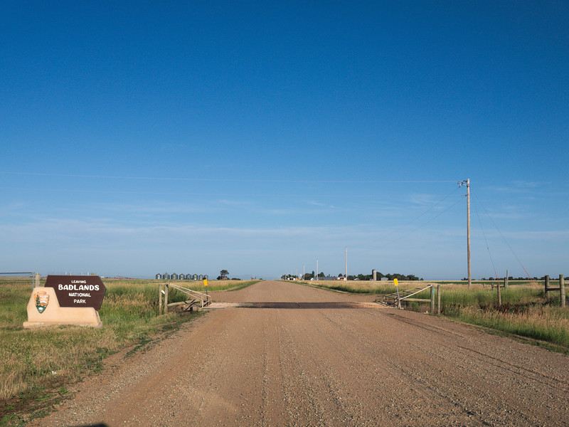 Sage Creek Road exit