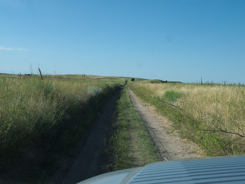 The road gets narrow