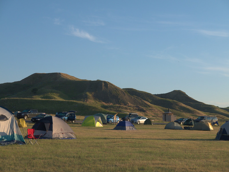 Sage Creek Campground, Badlands