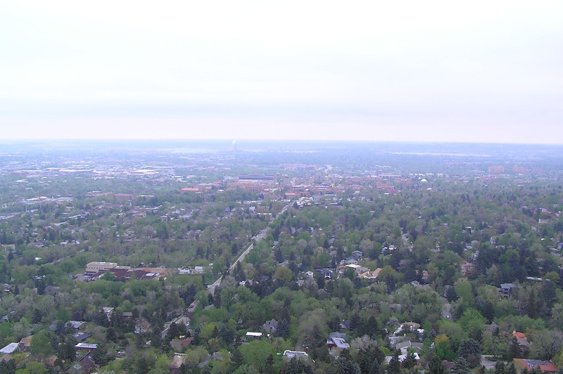 View of Boulder