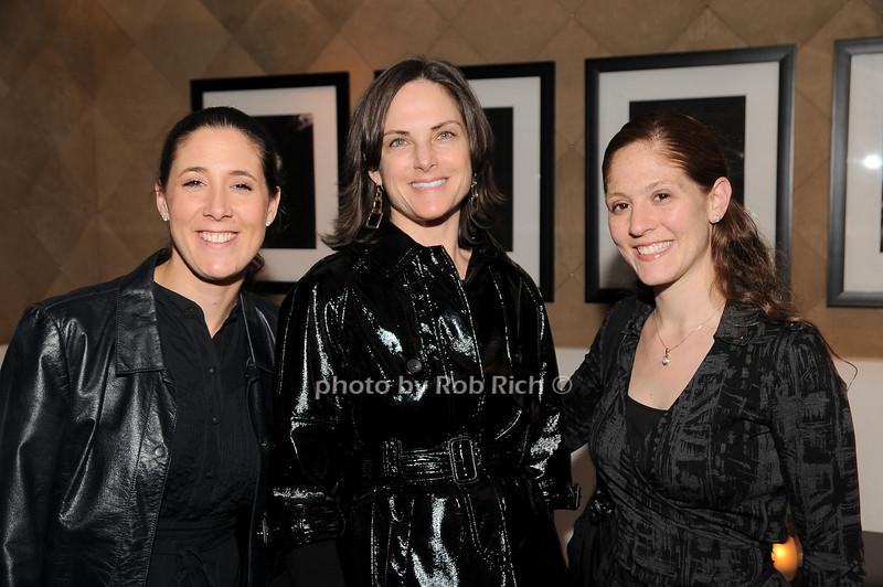 Jill Shapiro, Jill Rudnick, Rachael Chappa<br /> photo by Rob Rich © 2010 robwayne1@aol.com 516-676-3939