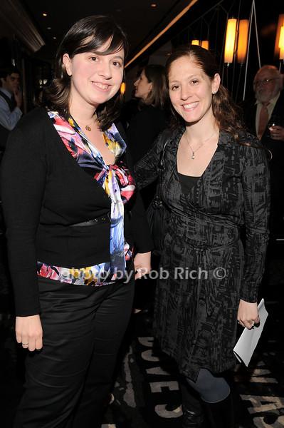Lori Lefevre, Rachael Chappa<br /> photo by Rob Rich © 2010 robwayne1@aol.com 516-676-3939