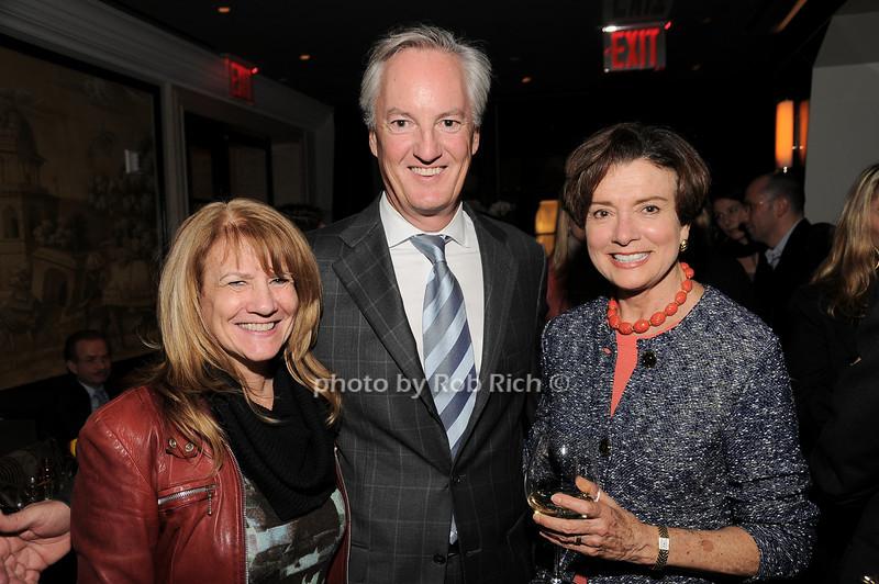 Barbara Bank, Ed Kelly, Diane Keller<br /> photo by Rob Rich © 2010 robwayne1@aol.com 516-676-3939