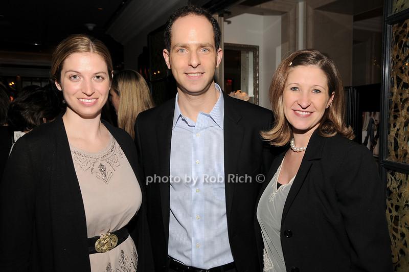 Sarrah Candee, Adam Bookbinder, Brooke Jenning<br /> photo by Rob Rich © 2010 robwayne1@aol.com 516-676-3939