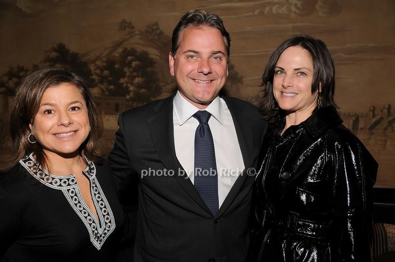 Andrea Werbel, Ellis O'Connor, Jill Rudnick<br /> photo by Rob Rich © 2010 robwayne1@aol.com 516-676-3939