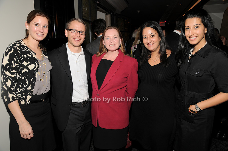 Carrie, Hucko,Greg Hybl, Joan Hendrie, Vinita Bhathia Anjulika Singh<br /> photo by Rob Rich © 2010 robwayne1@aol.com 516-676-3939