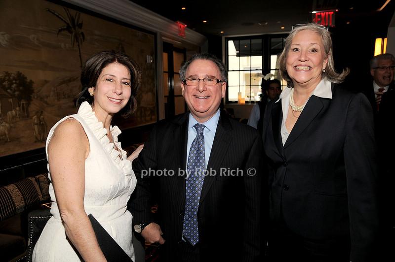 Madeline Roberts, Bill Gould, Michele Folman<br /> photo by Rob Rich © 2010 robwayne1@aol.com 516-676-3939