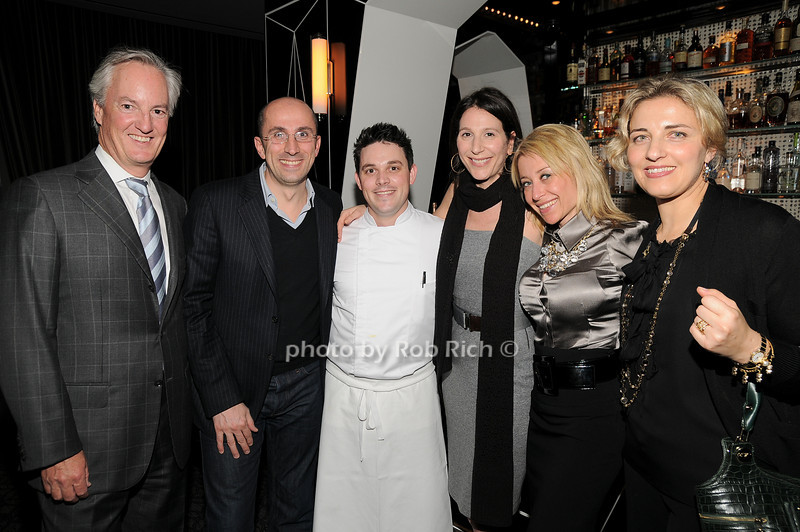 Ed Kelly, Marco Giacometti, Gavin Casin,  Claudia Silver, Gloria Martinelli, Alessandra Giacometti<br /> photo by Rob Rich © 2010 robwayne1@aol.com 516-676-3939