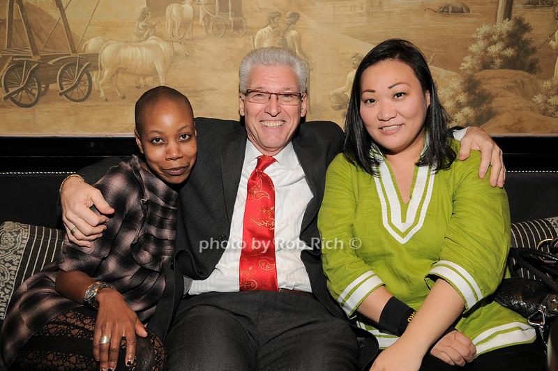 Eni ke Smith, Ed Ventimiglia, Helen Kang<br /> photo by Rob Rich © 2010 robwayne1@aol.com 516-676-3939