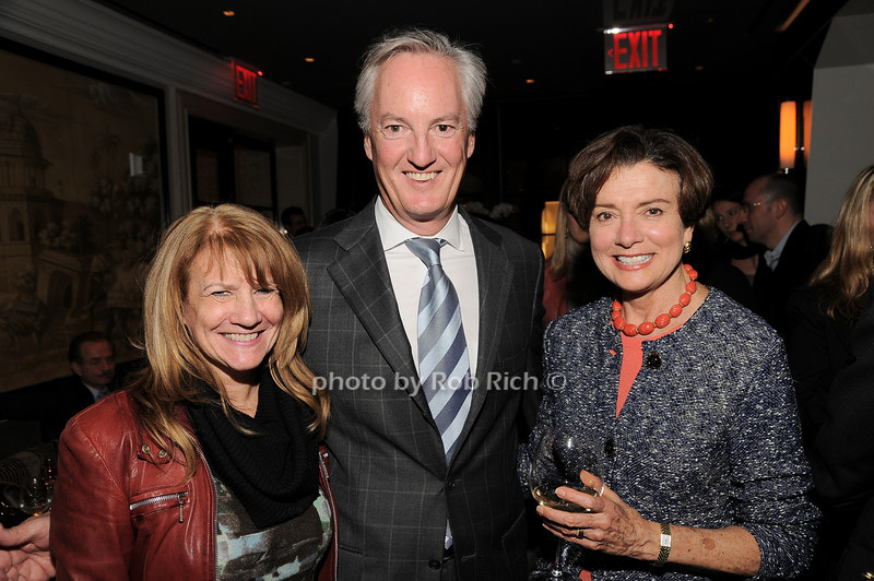 Barbara Bank, Ed Kelly, Diane Keller<br /> photo by Rob Rich © 2010 robwayne1@aol.com 516-676-3939