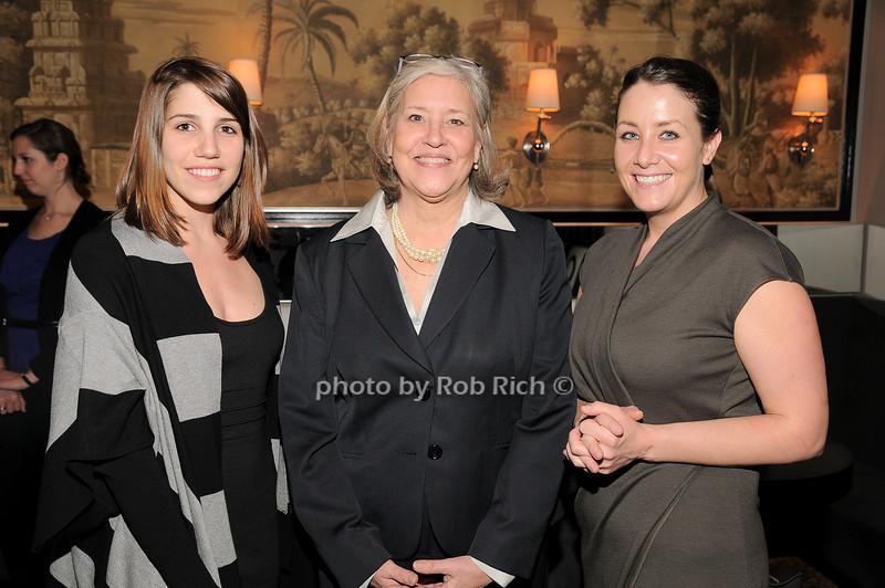 Stephanie Thorp, Michele Folman, Bridgette Day<br /> photo by Rob Rich © 2010 robwayne1@aol.com 516-676-3939