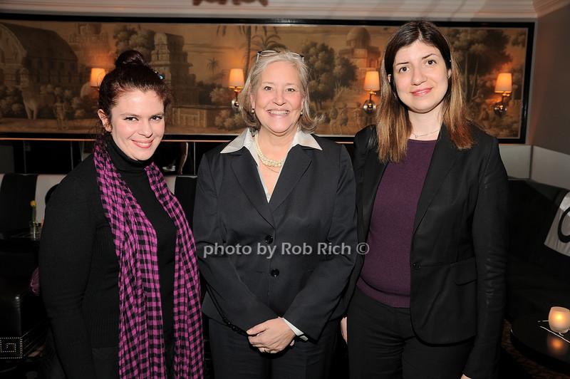 Govve Foroglu,Michele Folman, Tolunay Yilmaz<br /> photo by Rob Rich © 2010 robwayne1@aol.com 516-676-3939