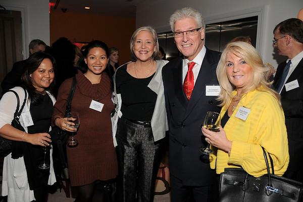 Celia de Dios, Viraya Myint, Michele Folman, <br /> Ed Ventimiglia, Marianna Morrello<br /> photo by Rob Rich © 2009 robwayne1@aol.com 516-676-3939