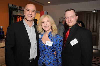 guest, Patricia Higgins, Chris Olshan photo by Rob Rich © 2009 robwayne1@aol.com 516-676-3939