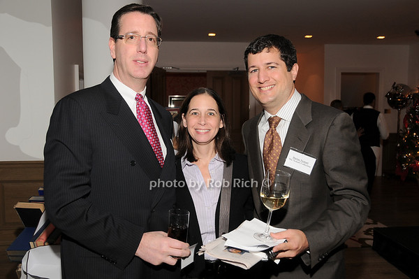 David Cohen, Melissa Cohen, Darius Nemati<br /> photo by Rob Rich © 2009 robwayne1@aol.com 516-676-3939