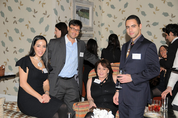 Vivace Maxvictor,Ricky Sitomer,Andrea Spring,Mehoi Baroun<br /> photo by Rob Rich © 2009 robwayne1@aol.com 516-676-3939