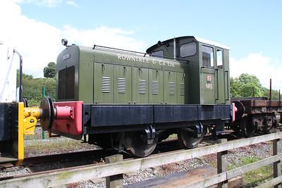 No3 4wDM 'Rowntree & Co Ltd' (Seen at NRM Shildon)   24/06/12