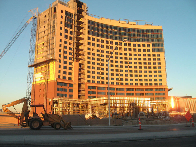 Desert Blue timeshare on Twain near Valley View behind the Rio.