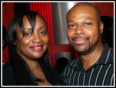 Pat Houston, Whitney Houston's Manager and Sister-In-Law and Ben Evans.