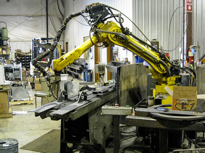 Robotic welding capabilities