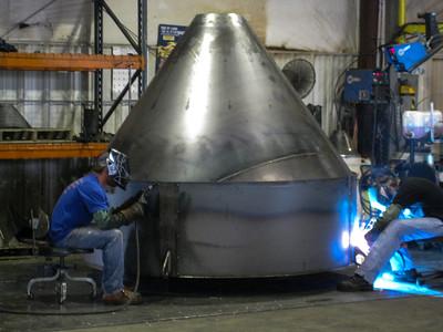 Silo welding