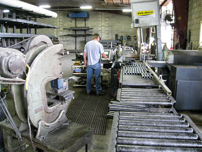 Metal tube cutting production