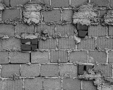 Exposed Block Wall Bricks