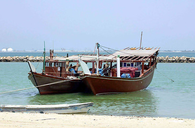Dhows at Dammam SM