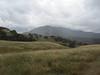 Rain rolls across North Peak.