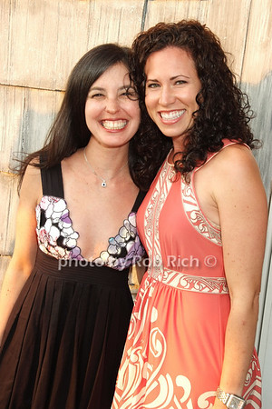 Dana Rosengarten, Vanessa Lippolis photo by Rob Rich © 2008 516-676-3939 robwayne1@aol.com