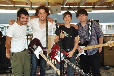 Brendon Soares, Casey Shea, Justin Dube', Chris Benton (Members of Everlea) photo by Rob Rich © 2008 516-676-3939 robwayne1@aol.com