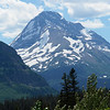 Mt Jackson and Jackson Glacier